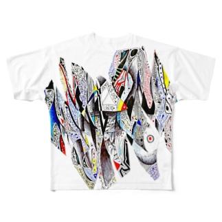 ZIGZAG Full graphic T-shirts