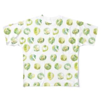 芽キャベツ Full graphic T-shirts