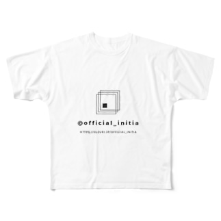 official_initia Full graphic T-shirts