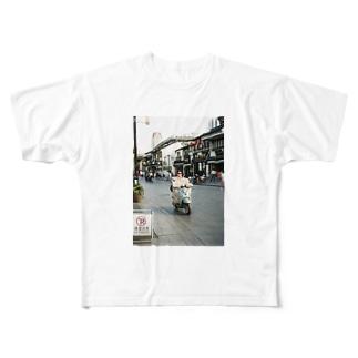 上海マダム Full graphic T-shirts
