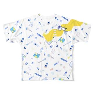 けってい Full graphic T-shirts