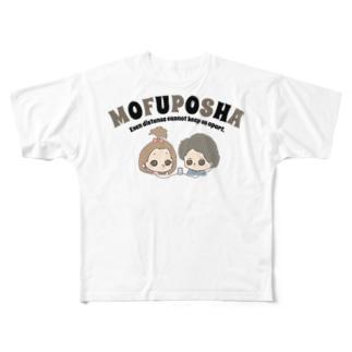色つきオトの世界! Full graphic T-shirts