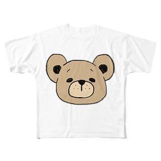 くまたろう。 Full graphic T-shirts