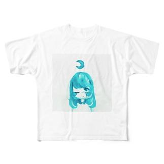 はやくねなきゃ Full graphic T-shirts