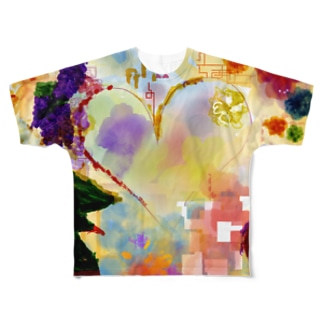 Clear Heart Full graphic T-shirts