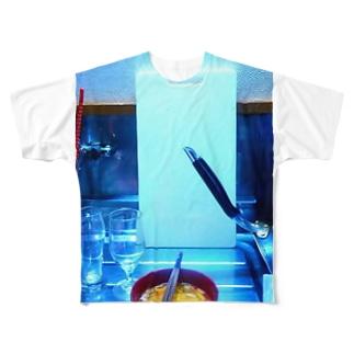 天下の台所 Full graphic T-shirts