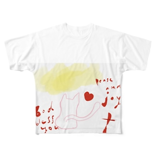 God bless you.peace and joy Full graphic T-shirts