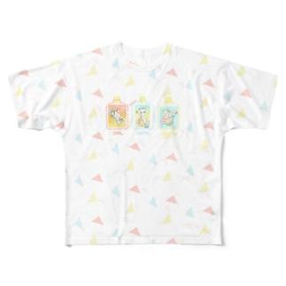 enjoy summer vacation! Full graphic T-shirts