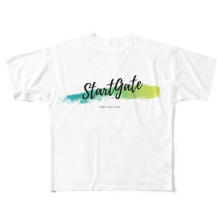 StartGate2019 Full graphic T-shirts