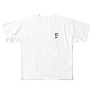 彼女_見て_ Full graphic T-shirts