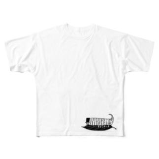 e-moくん Full graphic T-shirts
