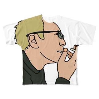 Cigarette  Full graphic T-shirts