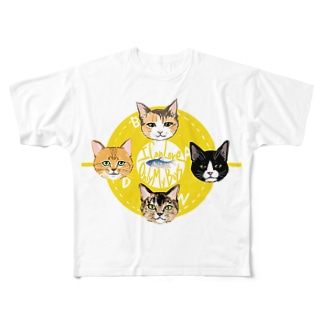 abdn from ちば Full graphic T-shirts