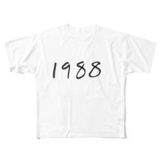 1988 Full graphic T-shirts