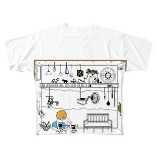 room1 Full graphic T-shirts