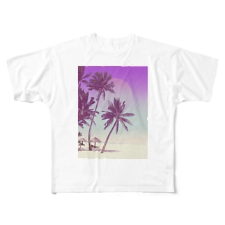 summer vacation Full graphic T-shirts