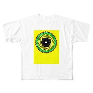 向日葵太陽 Full graphic T-shirts