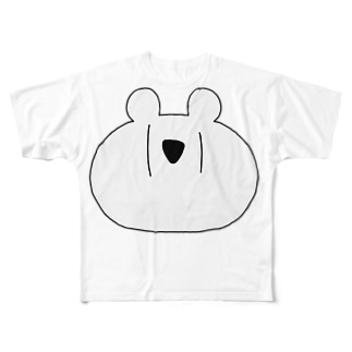めりっくま Full graphic T-shirts