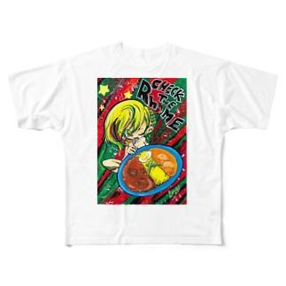 ライムちゃん Full graphic T-shirts
