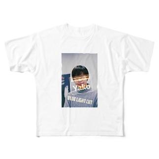 ブルーライトカット Full graphic T-shirts
