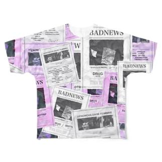 BADNEWS Full graphic T-shirts