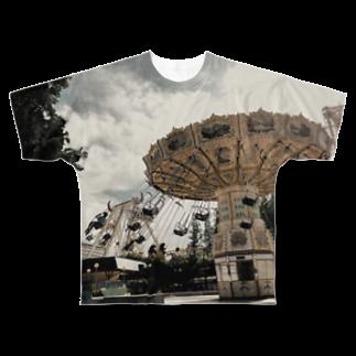 双葉🌱の空中ブランコ Full graphic T-shirts