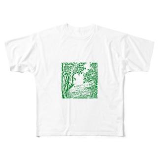 自然 Full graphic T-shirts