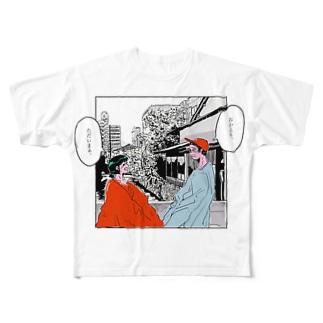 TADAIMA Full graphic T-shirts