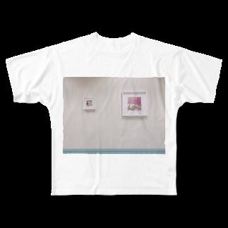 mutsumi_73のお洒落な壁 Full graphic T-shirts