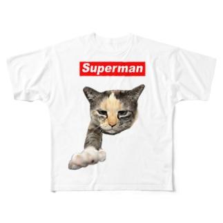 やまびこちゃん Full graphic T-shirts