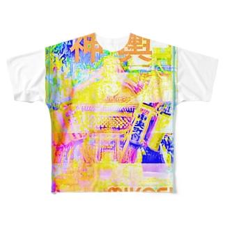 神輿その2 Full graphic T-shirts