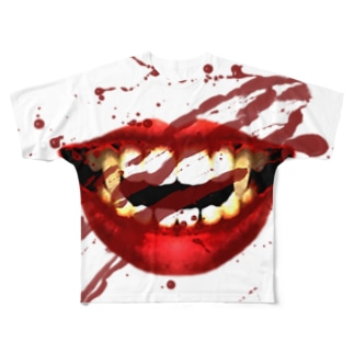 バンパイア - 血を求めて - Full graphic T-shirts