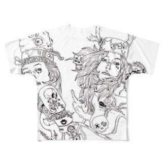telephone Full graphic T-shirts