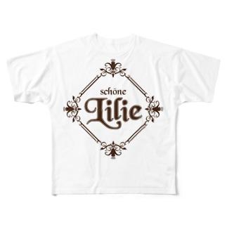 ユリ-Lilie- Full graphic T-shirts