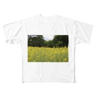 はるうらら Full graphic T-shirts