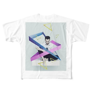 triangle,,,? Full graphic T-shirts