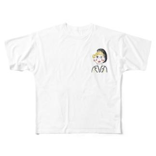 グラマラス Full graphic T-shirts