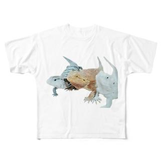 みんなテスト Full graphic T-shirts