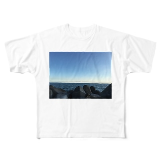 カイガン Full graphic T-shirts