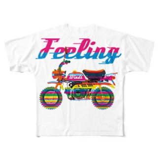 Feeling Winds Full graphic T-shirts