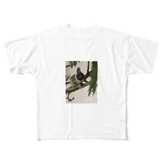 Avril_BushbabyのAvril 携帯ケース Full graphic T-shirts