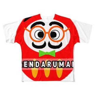 GENDARUMAN ジェンダルマン Full graphic T-shirts