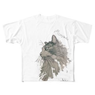 Missyeru Full graphic T-shirts