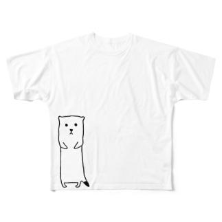 おこじょ Full graphic T-shirts