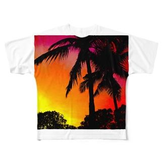 夜の前の、もう少し。 Full graphic T-shirts