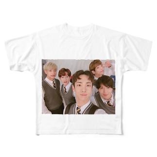 SHINee Full graphic T-shirts
