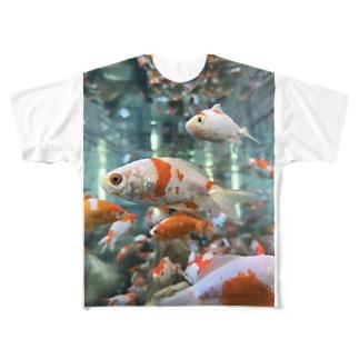 キンギョ Full graphic T-shirts