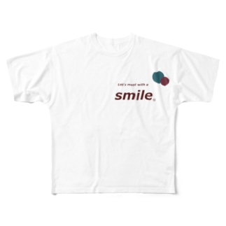 smileee Full graphic T-shirts