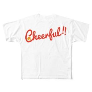 Cheerful!! Full graphic T-shirts