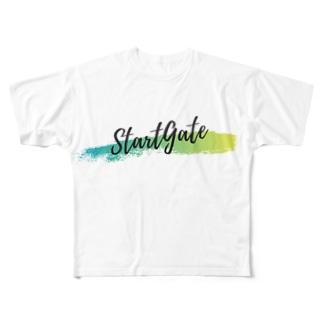 StartGate Summer2019 Full graphic T-shirts